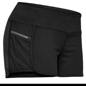 HYLETE Serenium Black training shorts sz S